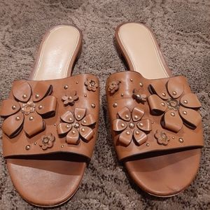 Mk sandals leather